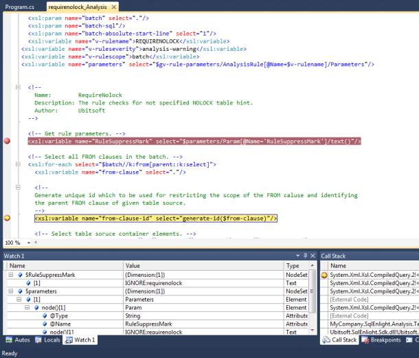 How To: Create Analysis Rule with Visual Studio